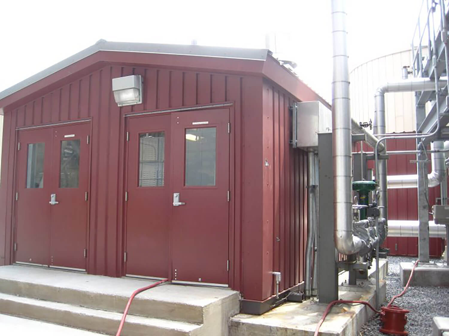 Astoria Energy Expansion modular building
