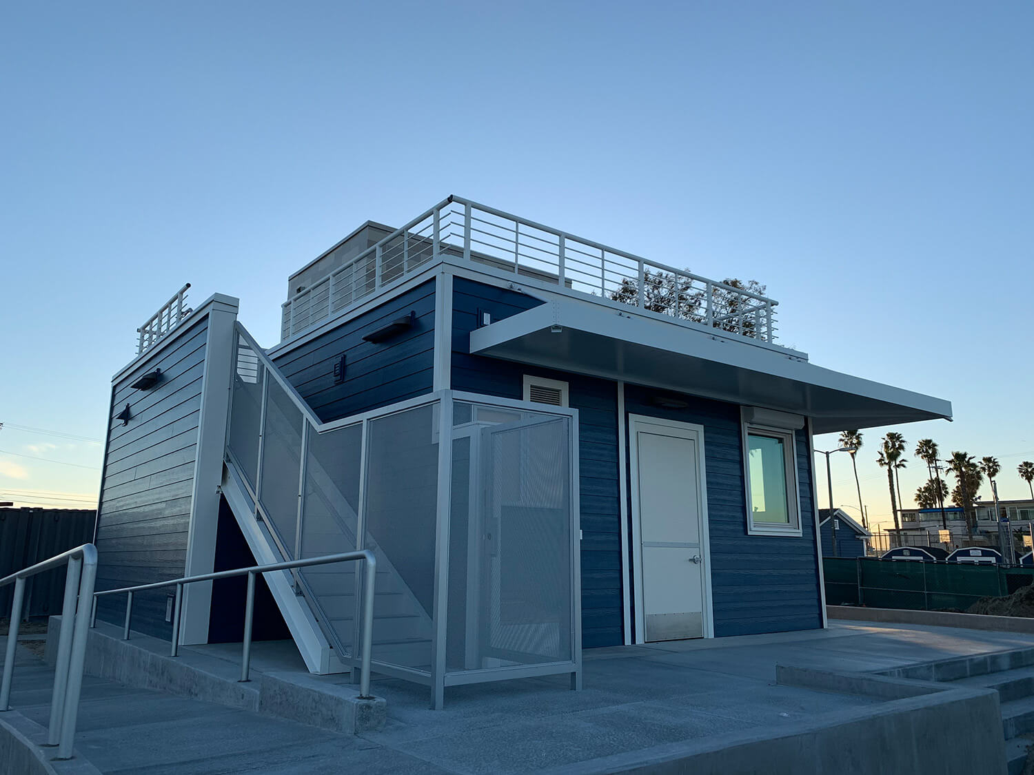 Bayshore Lifeguard Station modular building