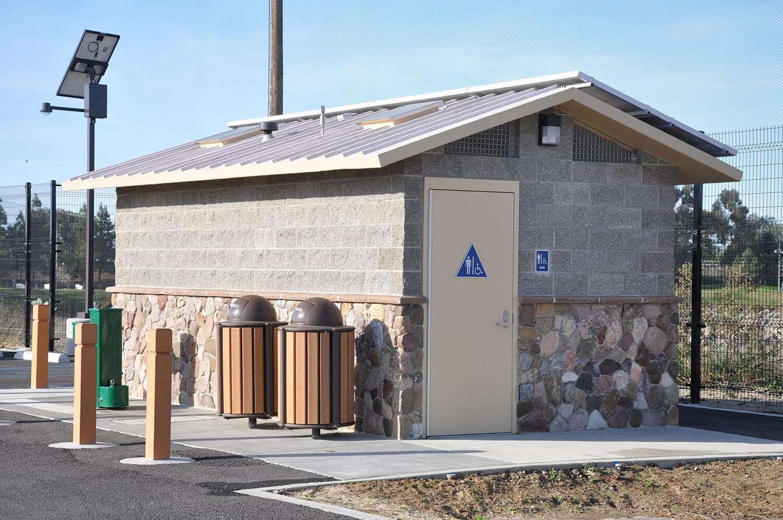 Burris Basin Ozark Restrooms modular building