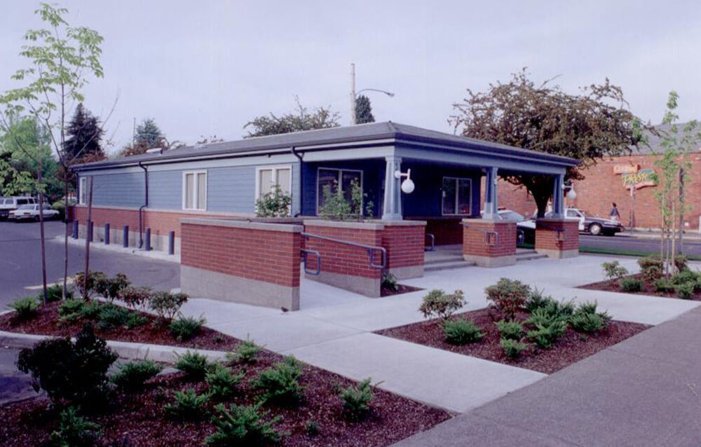 Eugene Police Substation Modular Bulding