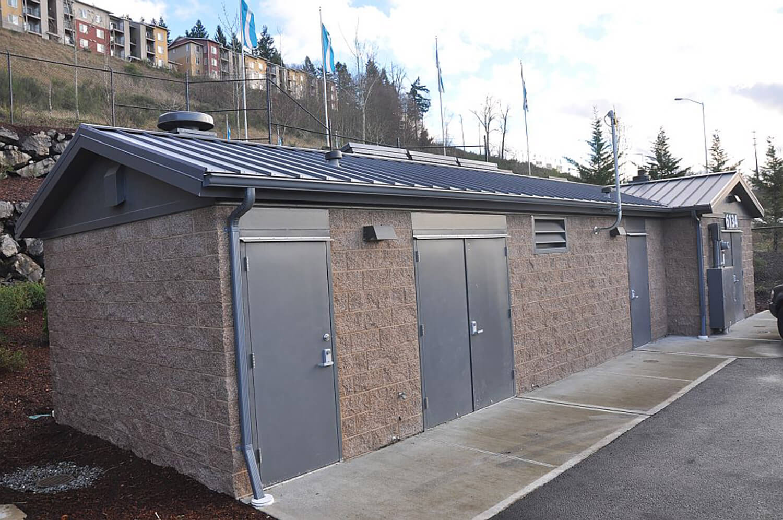 Kersey storage facility modular building