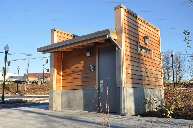 Riverfront Park Restrooms modular building