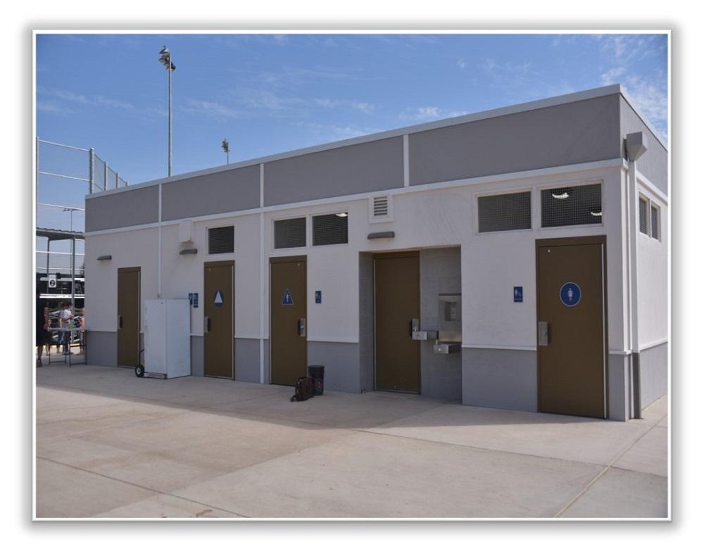 Army Depot Park Modular Building
