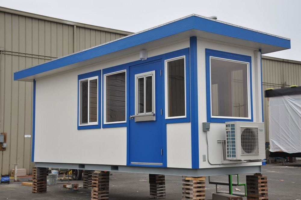 Skid Mount Guard House Modular Building