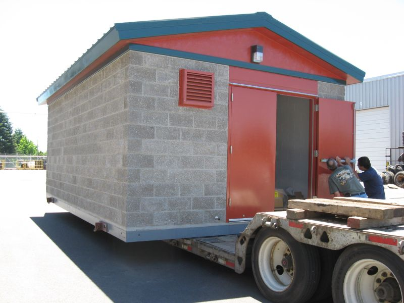 South Beach Pump Station Modular Building