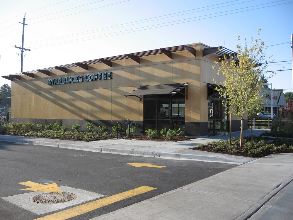 Starbucks Modular Building