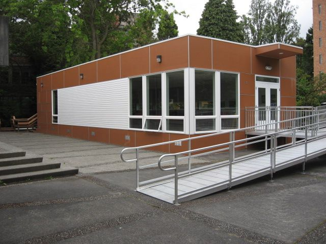 U of W Dining Hall Modular Building